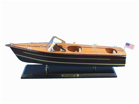 Wholesale Boats by Buy Wooden Chris Craft Triple Cockpit Model Speedboat 20