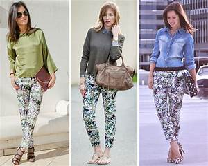 ZARA is the new black El pantalu00f3n estampado de flores de Zara