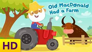 Old Macdonald Had A Farm Childrenu002639s Song With Lyrics By