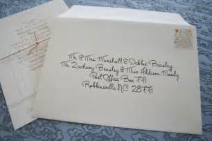 wedding invitations envelopes type - Addressing Wedding Invitations