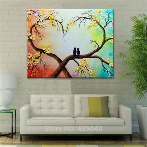 82 best flower painted wall painting palette knife