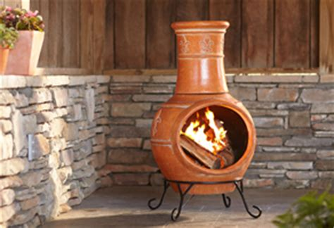 Chiminea Clay Home Depot - outdoor pits at the home depot