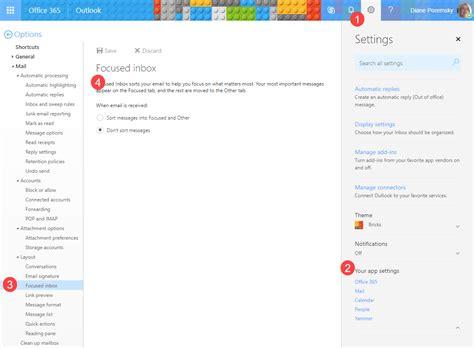 Office 365 Outlook Inbox by Using Exchange S Clutter Folder