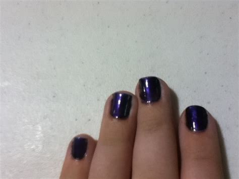 space purple nails   paint patterned nail art art