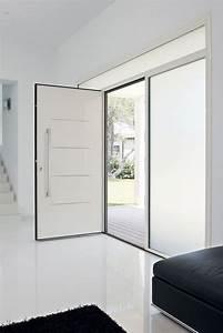 Porte D Entrée Blanche : portes d 39 entr e design et traditionnelles bois acier ~ Melissatoandfro.com Idées de Décoration