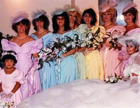 worlds worst bridesmaid dresses  night  freedom