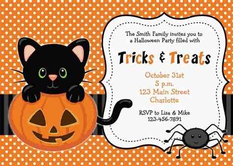 FREE Printable Halloween Invitations Templates DREVIO