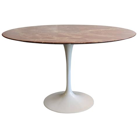 tulip table saarinen marble tulip dining table at 1stdibs
