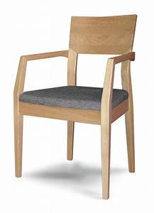Stühle Aus Holz : buchenstuhl mit armlehnen gepolsterter sitz f r k che ~ Lateststills.com Haus und Dekorationen