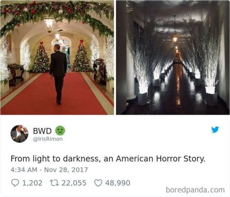 melania trumps white house christmas decorations