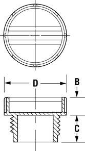 General-Purpose Plugs for British Standard Pipe Fittings