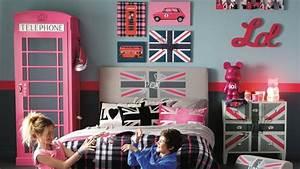 Idée Déco Chambre Ado : id e decoration chambre ado london room decor bedrooms and decoration ~ Preciouscoupons.com Idées de Décoration