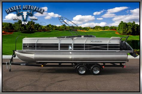 Performance Pontoon Boats For Sale by Xcursion 3 0 Performance Package Pontoon Boat Brand New
