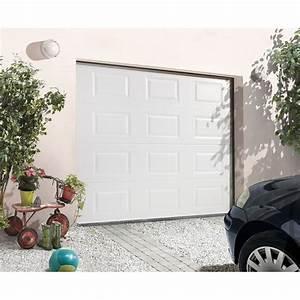 porte de garage sectionnelle primo h200 x l240 cm With leroy merlin porte de garage sectionnelle