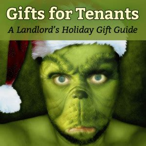 gifts  tenants  landlords holiday gift guide