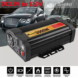 3000w Solar Power Inverter Modified Sine Wave Converters