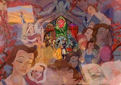 Disney Collage Princess Belle Fanpop Fan Fanart