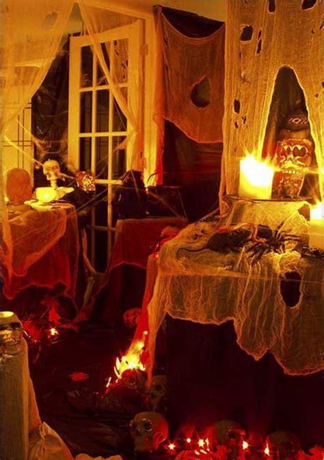 Some Ideas For Indoor Halloween Decoration Ideas Designs