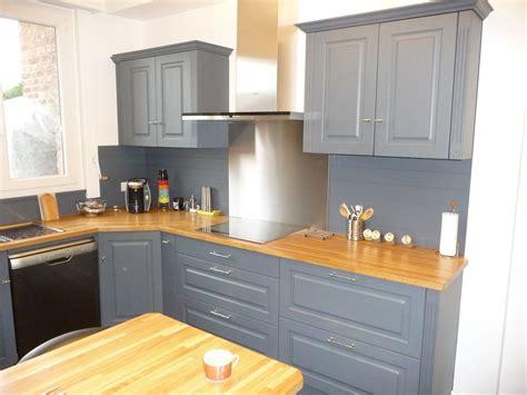 idee renovation cuisine cuisine equipée chêne gris clair cuisines liebart
