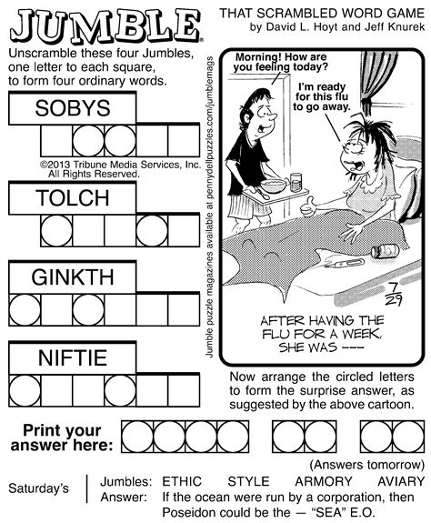 We did not find results for: 7 Best Images of Printable Jumble Crosswords - Free Printable Jumble Word Puzzles, Free ...