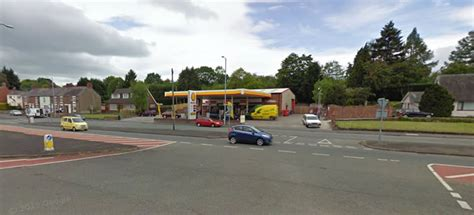 Shell Garage Road by Mold Road In Gwersyllt Reopens After Incident By Shell