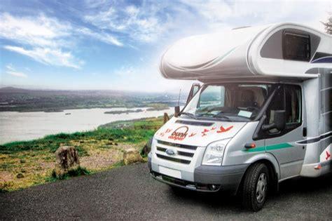 Bunk Campers Campervan hire Ireland   Motorhome Hire