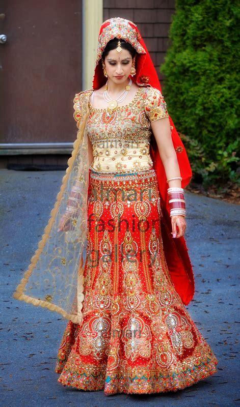 fashion club south indian wedding lengha