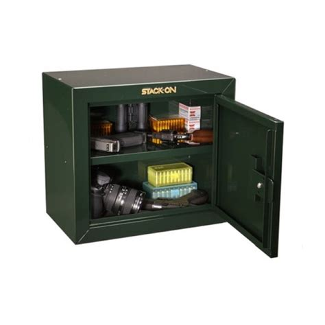 stack on gun cabinet shelves stack on gcb 500 pistol ammo key lock cabinet w two