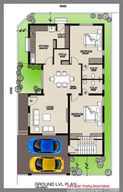 single floor house plans kerala style single foor house at 1480 sq ft