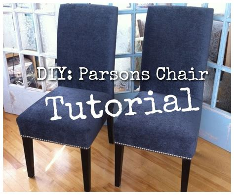 diy  upholster  parsons dining chairs tips