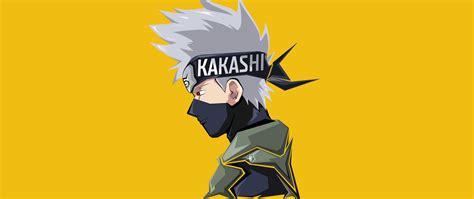 2560x1080 Kakashi Hatake Minimal 4k 8k 2560x1080