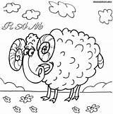 Ram Coloring Ram3 sketch template