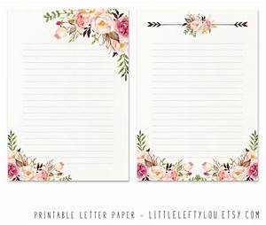 printable letter paper floral 2 stationery writing letter With letter paperweights