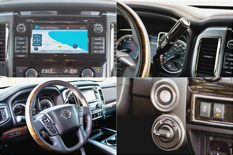 nissan titan interior 2017 2017 nissan titan platinum reserve review very good isn