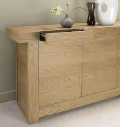 Solid Wood Filing Cabinet by Osaka Oak Wide Sideboard Oak Furniture Solutions