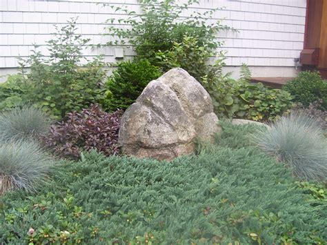 boulders in landscaping natural large rocks for landscaping homesfeed