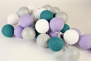 Guirlande Boule Lumineuse : guirlande lumineuse de boules de coton namtha guirlande lumineuse guirlande lumineuse de ~ Teatrodelosmanantiales.com Idées de Décoration