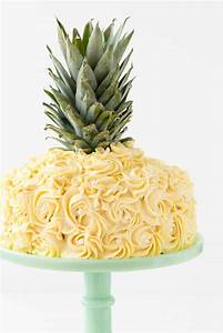 Pineapple Cake {Cake Decorating Tutorial} - Crazy for Crust