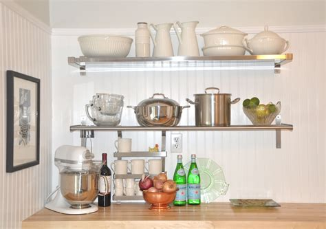 stainless steel kitchen wall shelves ikea stainless steel