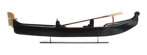 Gondola Boat Parts by The Great Canadian Model Builders Web Page Venetian Gondola