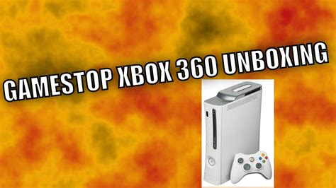 gamestop pre owned xbox  unboxing youtube