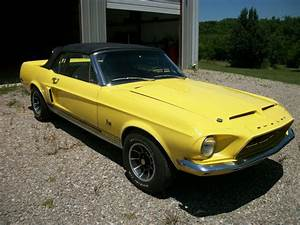 low miles 1968 Ford Mustang GT500KR convertible for sale