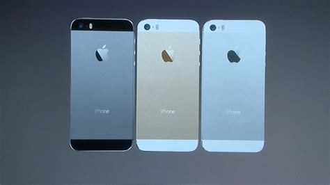 apple unveils new iphone 5s apple s iphone 5s features new colors fingerprint scanner