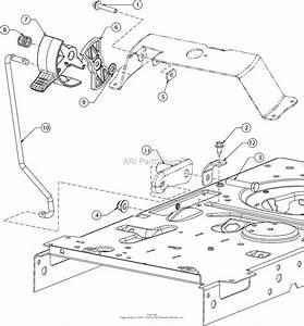 Mtd 13ad78xs099  247 203733   T1400   2016  Parts Diagram
