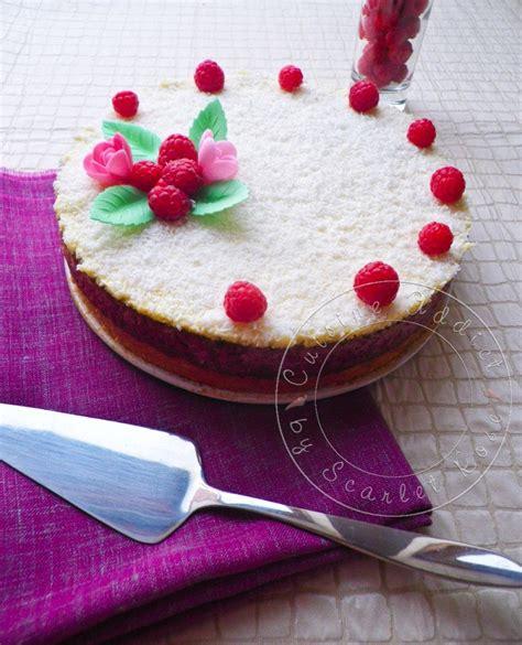 recettes cuisine libanaise gâteau aux amandes mascarpone framboises cuisine
