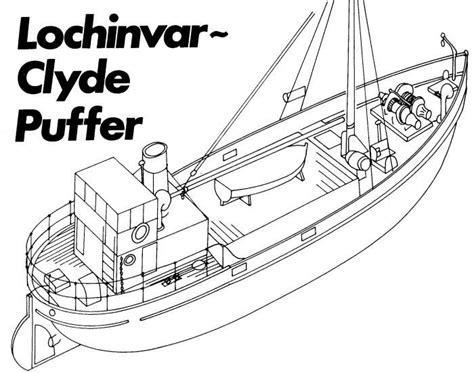 free ship plans lochinvar clyde puffer plans