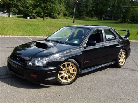 Subaru Impreza Wrx Sti For Sale by 47k Mile 2005 Subaru Impreza Wrx Sti For Sale On Bat
