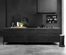 black kitchen furniture kitchen design trends 2016 2017 interiorzine