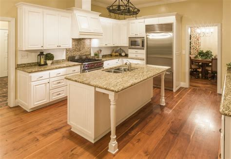 wooden flooring in kitchen pros and cons of kitchens with wood floors 1622