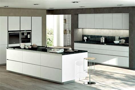 amenagement ilot central cuisine la cuisine blanche le des cuisines